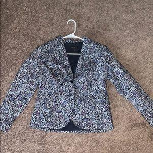 Talbots floral jacket